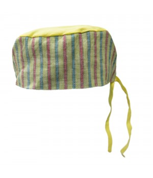 Surgical Cap -  Colored Stripes