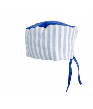 Surgical Cap - Blue & White...